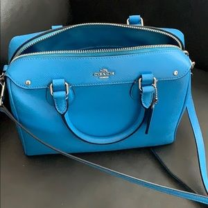 Coach Blue Crossbody
